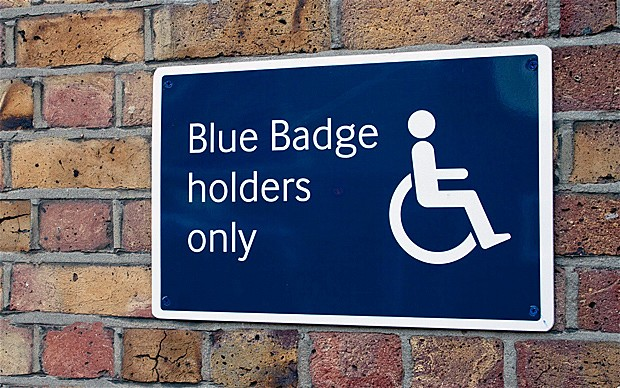 Personalised Badges - Blue Badge